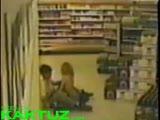 Amateur sex in the supermarket