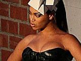 Beyonce big tit slip in slutty outfit