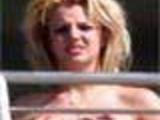 Britney Spears Naked on Balcony, Paparazi Shots