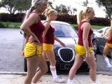 Horny cheerleaders fucks for cash
