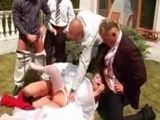 Drunken Bride Gangbanged By Dirty Friends