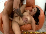 Tight asian beaver pounded by a big dick