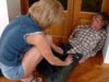 Mom helps drunk boy