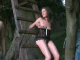 Sextape in the woods