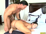 Latin bombshell take a big meat pole