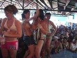 Naughty Texas girls gone wild in spring break party