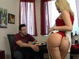 Her big ass smothered me