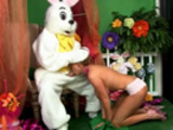 Girls be aware, not all Easter Bunnies are cute!