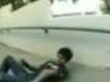 Skater breaks his arm