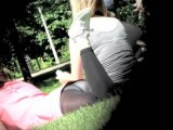 Enjoying My Side View In The Public Park
