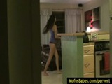 09-Private voyeur porn spy on hot amateur ...