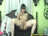 Dildo On A Drill Made Her Squirt! Hd