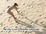 Isabella Teen Naked Redhead Girl On The Beach