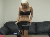 Busty blonde wants to do porn