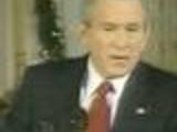 Bush is drunk?