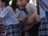 Schoolgirl Getting Her Pussy Fucked Hard From Behind..