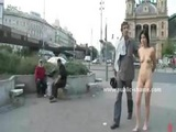 Naked Slut Walked And Humiliated In Public Disgrace Sex And Fucked In Her Throat In Wild Blowjobs