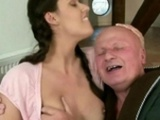 Grandpa Enjoying Sex With Beautiful Girl