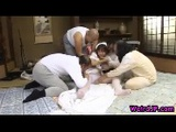 Mika Osawa Gets Pounded By Group Of Horny Men