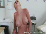Horny Nurse Rough Fucks Her Dirty Patient