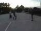 Fight on Basketball field