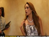 Petite Latina Girl Takes A pounding In The Closet