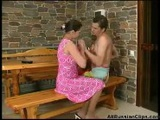 Mature Russian Woman And Young Man!