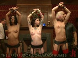 Sexy Slaves Getting Wild And Hardcore In Hot BDSM Party