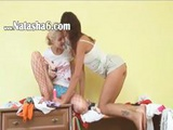 Lovely Russian Stripping On Closet