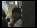 Cute Schoolgirl Fucked On a Train 2