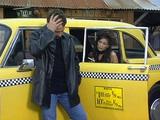 Cab driver pleasing a client