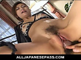 Fetish fun with a horny AV model tied and fucked