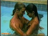 Feisty Teen Latina Helaine Oliveira And Her Man Frolic And Fuck By The Pool