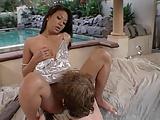Asian babe Jade Marcela fucked under gazebo