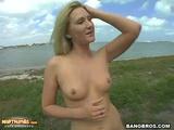 Blonde Alexis Malone Takes Warm Cumshot After Hardcore Fuck