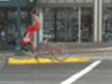 Bike crash