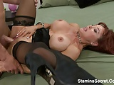 Huge Tits MILF Fucked On Her Ass2