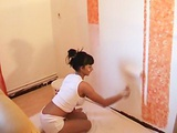 Candy Samira - painting leads to sex