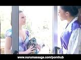 Asa Akira Lesbian Nuru Massage