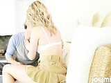 Heather Starlet Makes Love With Skirt On