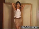 Real Asian Cutie Strips And Toys Her Part3