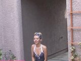 Aaliyah Love photo shoot