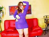 Chocolate Models - Scarlett Purple Dress