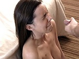 Teen Girl Gets Unpleasant First Facial Cumshot In Her Life