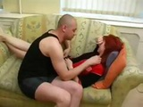 Redhead Wife Is Cheating With The Neighbor And Gets Nailed
