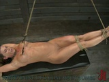 Ariel X Gets Her Pink Pussy Punished With Toys And Clamp