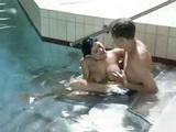 Hot Busty Brunette Brandy Titty Fucks And Gets Drilled In The Pool