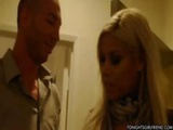 Busty Blonde Latina Bridgette B Meets Up With Client For Sex