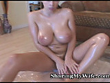 Slicked Up Tits Ready To Be Fucked