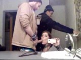 Sucking dick in public bathroom